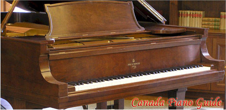 Piano showrooms and dealers in Ontario Canada
